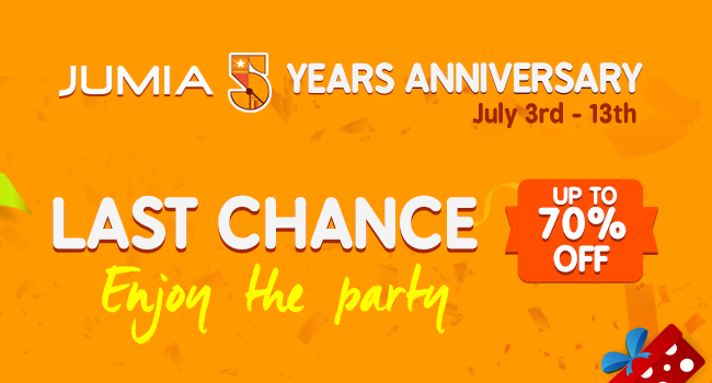 Jumia 5th Anniversary All Categories